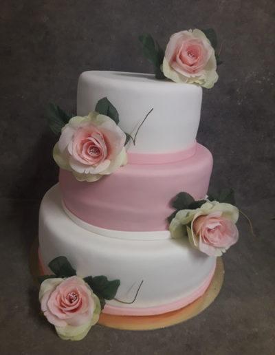 lesgourmandisesdekevin-pateasucre-rose-blanc-fleurs